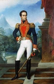 Simon Bolivar who went to Haiti for help to liberate Venezuela and many South American Country