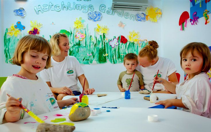 Hatchlings Crèche at Periyali Crèche & Children's Club in Zakynthos, Greece #Zakynthos #Greece #travel