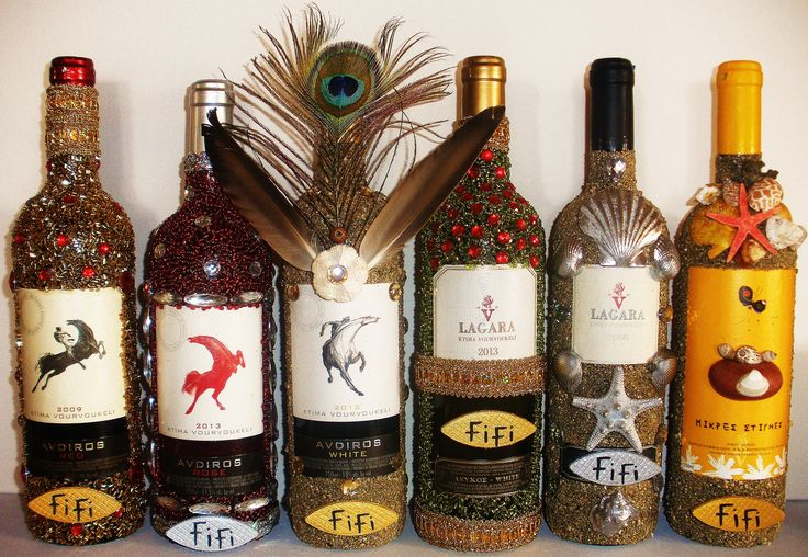 BOTTLE DECORATION BY http://fifichatzistoikou.com/index.php/ct-menu-item-9/ct-menu-item-29