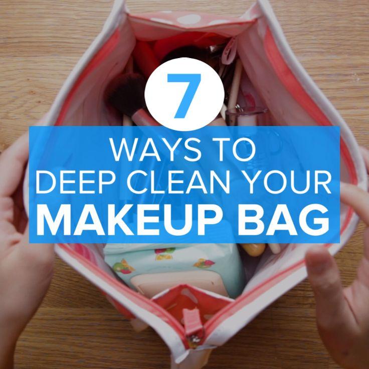 How To Deep Clean Your Makeup Bag