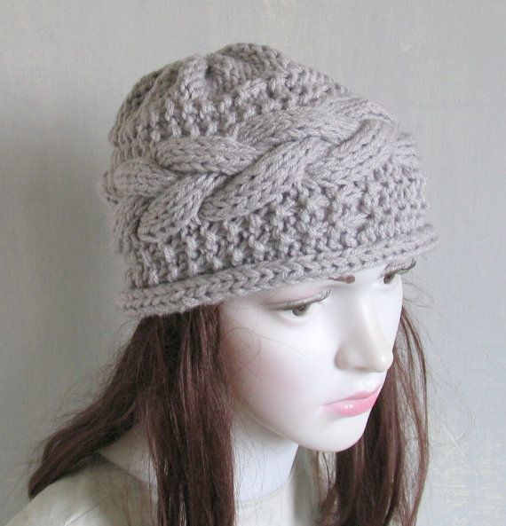 Knit Turban Hat Handmade Hat BeanieHandmade Hat Knit Cap
