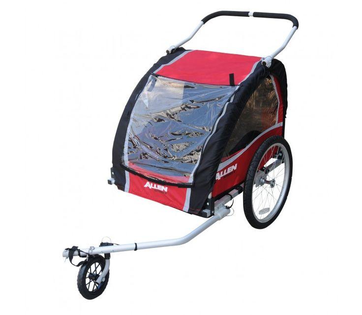 Allen AST200 Aluminium Trailer/Stroller (2 Child) $329