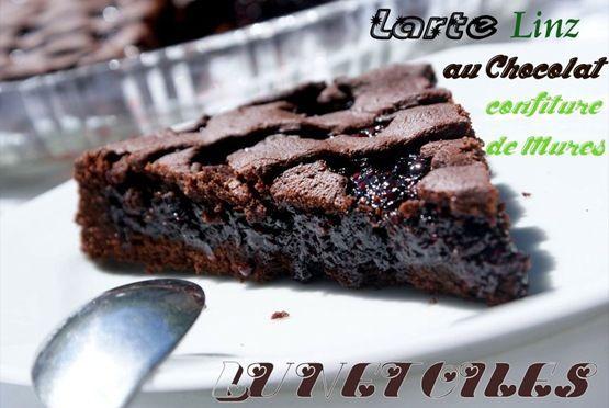 Tarte de Linz chocolat / confiture de mûres maison bonjour tout le monde,  voila encore un des...