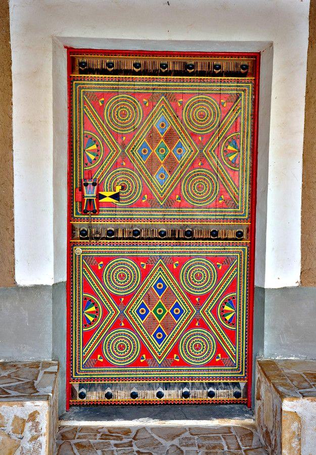 ♪ Puerta en Yanbu, Arabia Saudita
