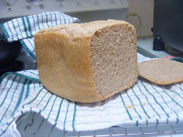 Bread Machine Spelt Bread (Wheat free, dairy free, egg free, nut free)