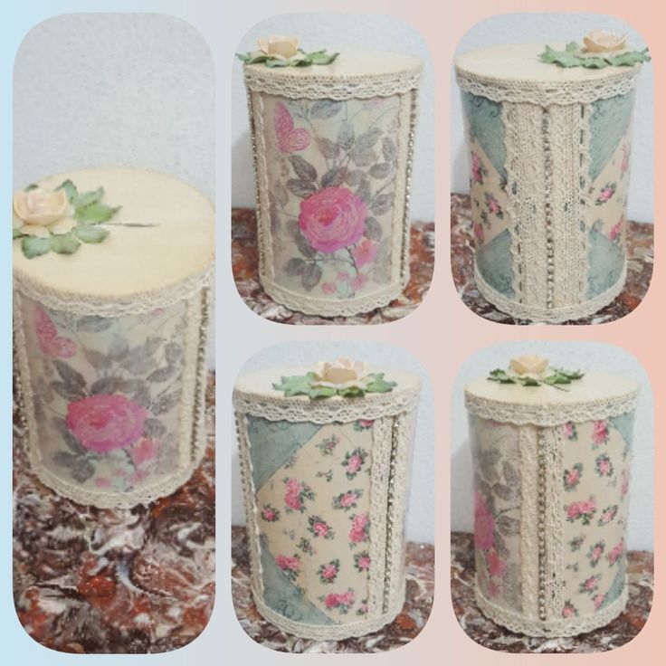 Altered decoupage can