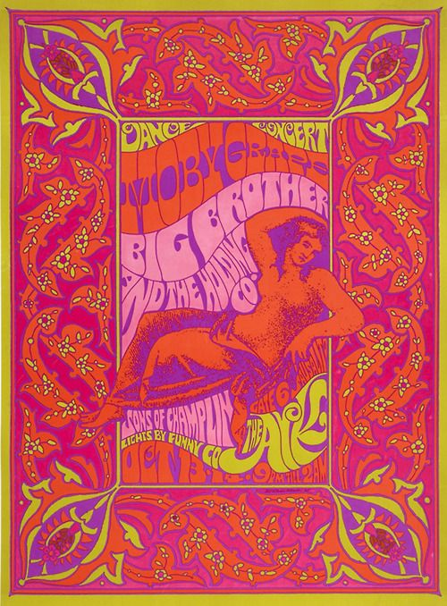1967 Moby Grape / Big Brother & The Holding Company / Sons of Champlin at The Ark (Sausalito).