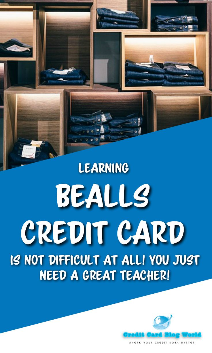 Learning bealls credit card is not difficult at all you