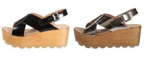 Zign Sandalias Con Plataforma Negro sandalias calzado Zign sandalias plataforma negro Noe.Moda