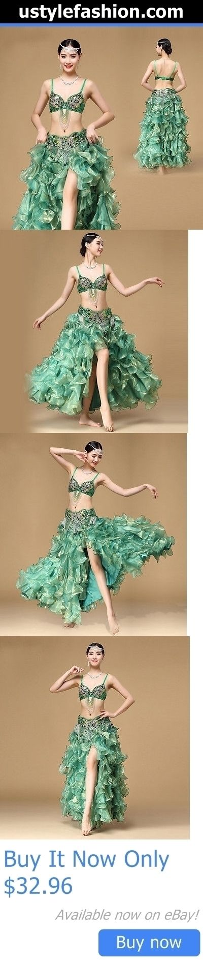 Dancewear: New Belly Dance Costume Set Bra Top Belt Skirt Dress Rio Carnival Bollywood 3Pcs BUY IT NOW ONLY: $32.96 #ustylefashionDancewear OR #ustylefashion