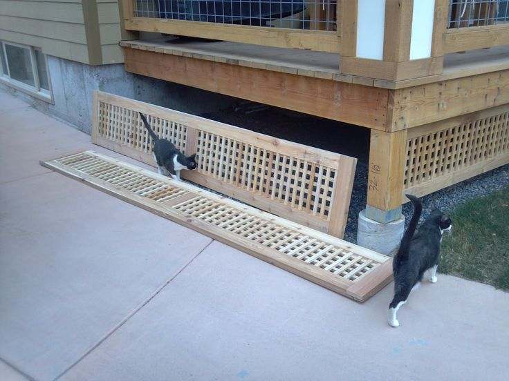 25 best ideas about deck skirting on pinterest deck for Wood skirting