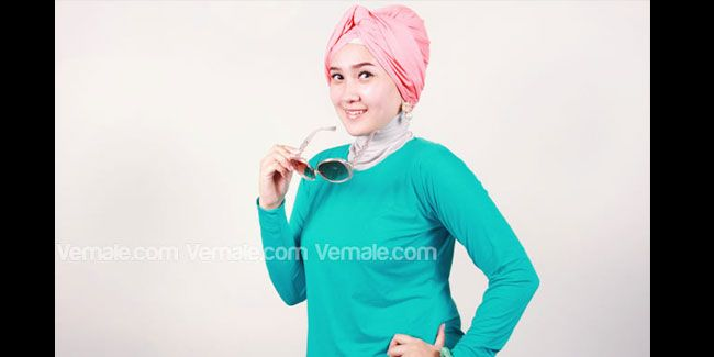 Fashion: Tutorial Hijab Turban Gaya Retro | Vemale.com