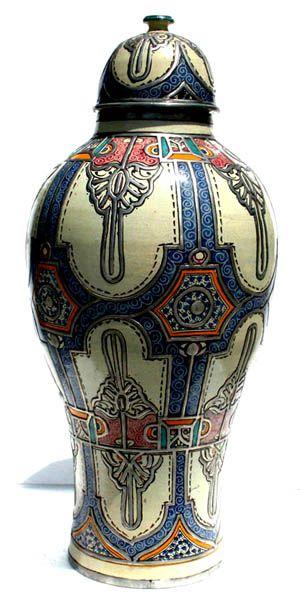 Fez antique vase