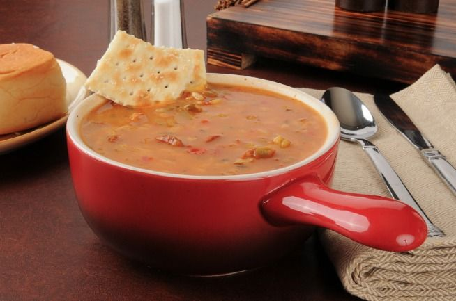 Slow Cooker Low-Calorie Chicken Gumbo - Easy and Delicious! www.GetCrocked.com