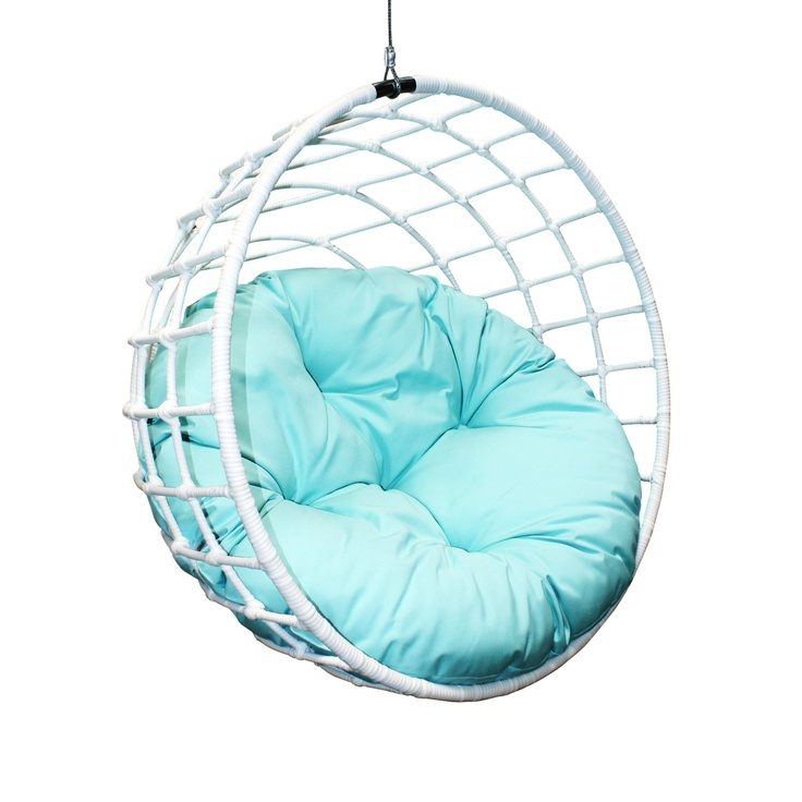{Urban Balance Sphere in White} this would look so good in my backyard (or even my office!): Sphere Rattan, Balance Sphere, Urban Balance, Hanging Chairs, Company Ubc 996, House, Outback Company, Bedrooms Ideas, Ubc 996 Urban