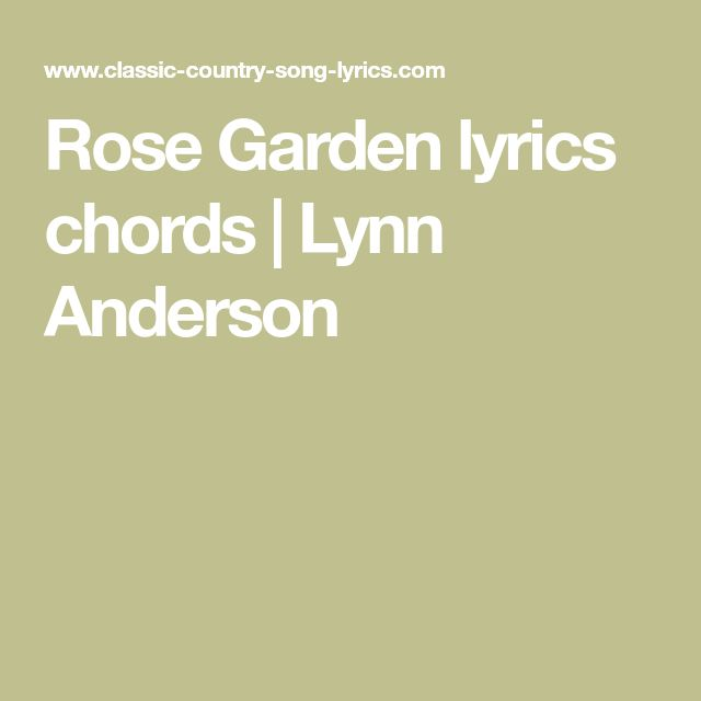 Best 25 lynn anderson ideas on pinterest peter pan peter and wendy and pan movie for Lynn anderson rose garden lyrics