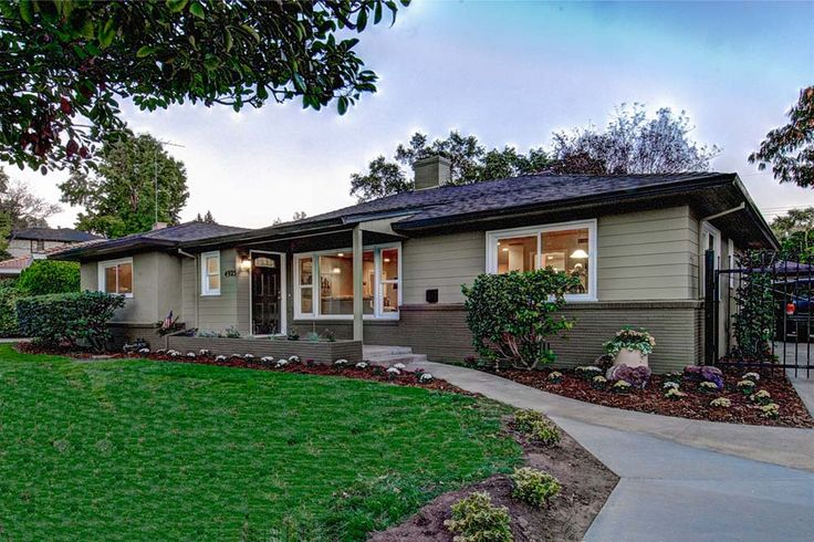 25 best ideas about ranch house exteriors on pinterest for Ranch house curb appeal