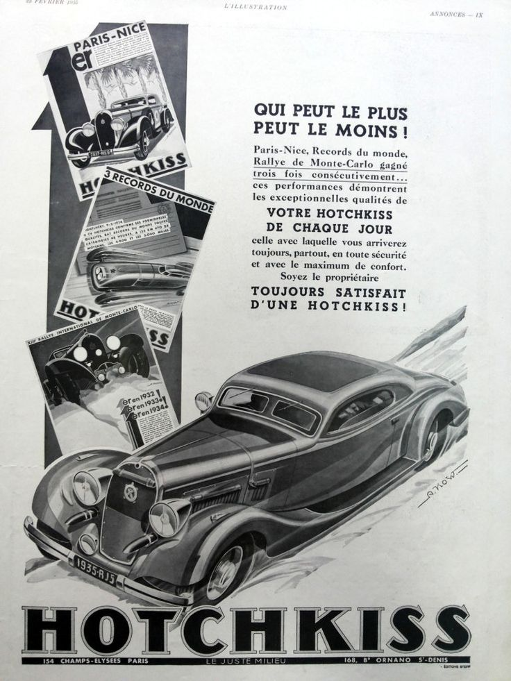 44 best HOTCHKISS images on Pinterest Old school cars, Antique