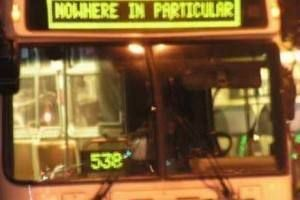 midnight bus to nowhere