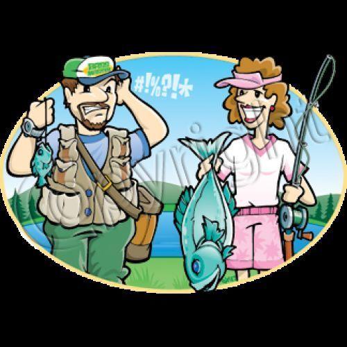 Fishing Shirt Husband Wife Humor HEAT PRESS TRANSFER for T Shirt Sweatshirt 739i #AB