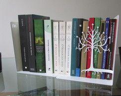 "Bibliocanto ""Árvore de Gondor""duplo, Aço"