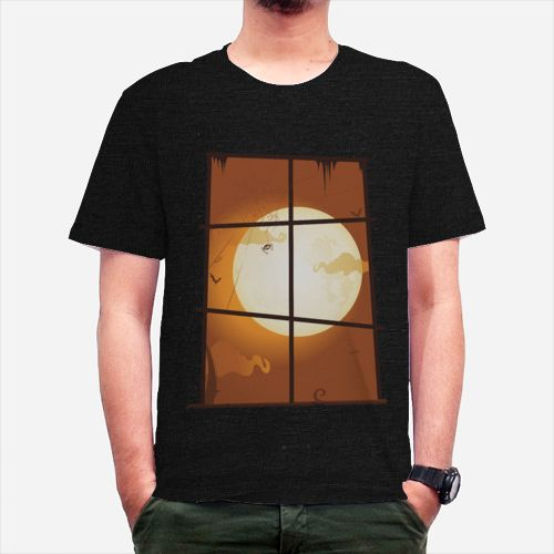 Windows Moon dari Tees.co.id oleh Vrend Clothing