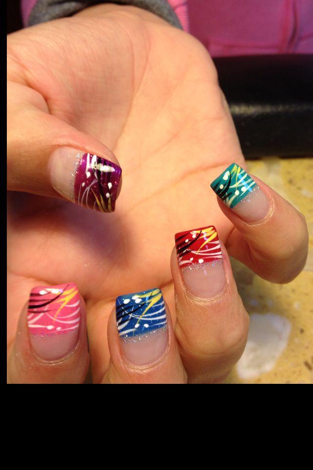 Nail art design by Jennifer at Country nail in Selden ny