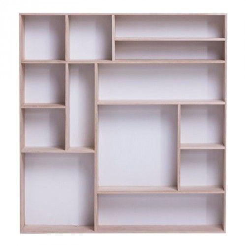 Étagère Murale REIZO (Blanc) | Bibliothèques | JYSK Canada 79$