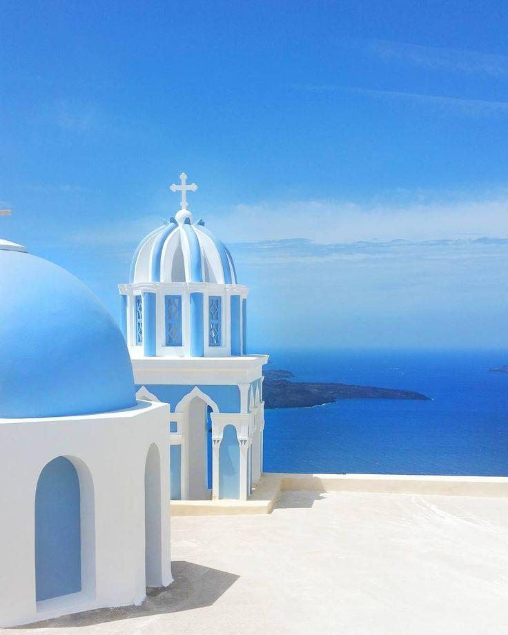 Santorini | Oia |  Church & view