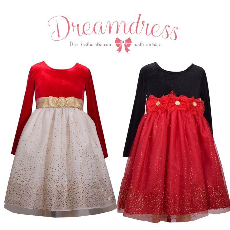 Traumkleider für Weihnachten! Jetzt online auf Dreamdress.at #dreamdress, #littleFashionista, #firlsfashion, #mädchenmode, #mädchenkleider,#traumkleid #weihnachtsmode, #santaOutfit