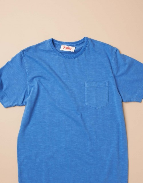 Short Sleeve Pocket Tee (royal)