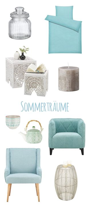 Ein Sommertraum In Zarten Pastelltönen Und Ornamentalen Mustern   Unsere  Erfrischenden Wohnaccessoires Und Möbel Holen Die
