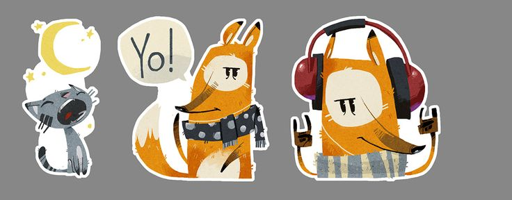 Stickers pack for Viber on Behance