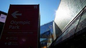 Olympic Park bolt poster