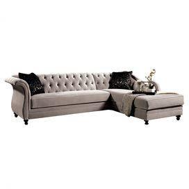 Katherine Tufted Sectional Sofa