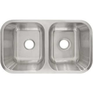 LessCare L205 Undermount Stainless Steel Sink | Overstock.com Shopping - Great Deals on LessCare Kitchen Sinks