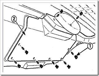 Снимаем обивку крышки багажника на Matiz