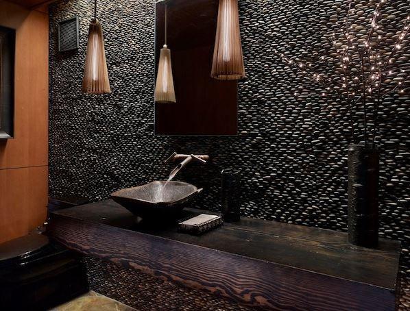 Decorative Stone Wall : 24 Awesome Stone Wall Ideas. Interior ...