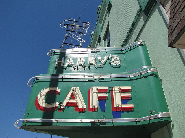 Harry's Cafe, Pittsburg, Kansas.