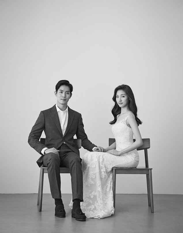 Stylish Elegant And Natural Korean Wedding Photos
