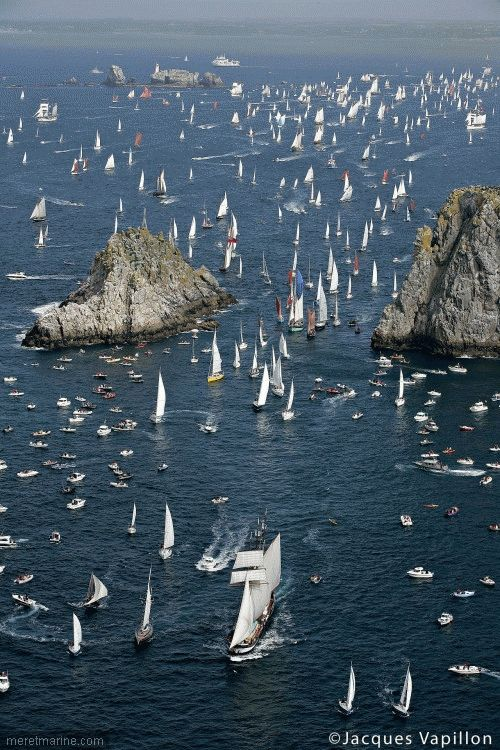 Tonnerres de Brest : 950 bateaux et 9000 marins réunis | Mer et Marine