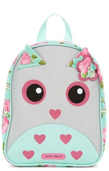 Confetti Metallic Owl Backpack