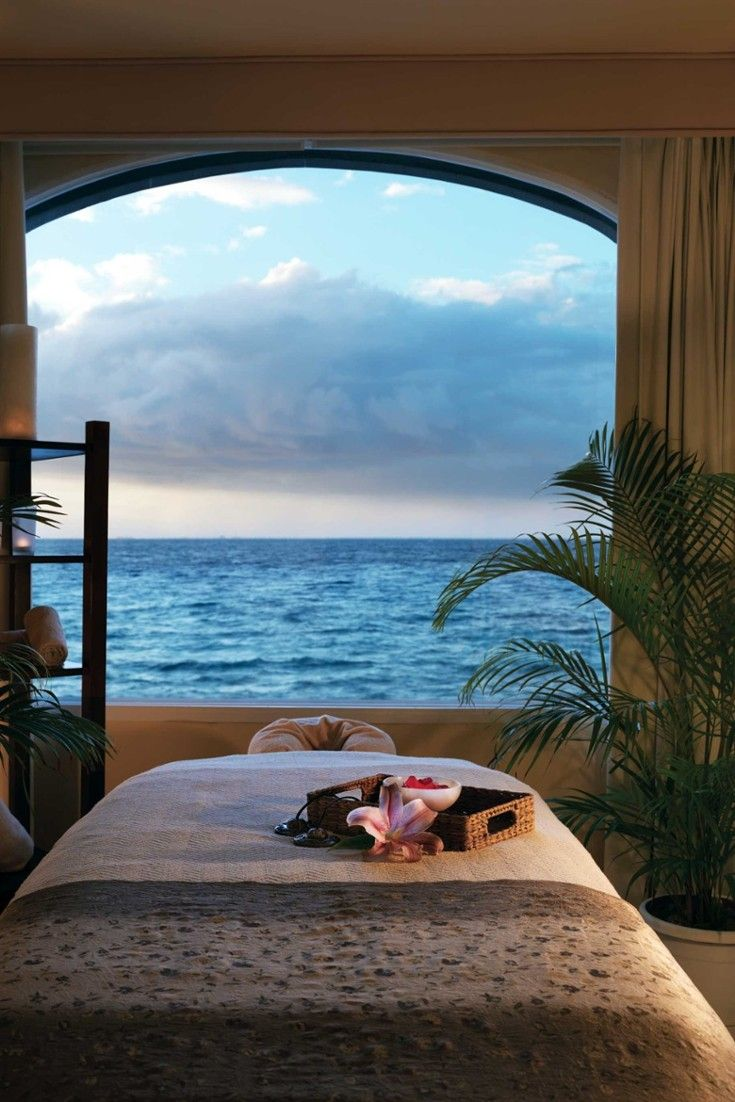 Unwind in one of nine treatments rooms at the spa — we love the 50-minute Seaweed Wrap. #Jetsetter Cozumel Palace (Cozumel, Mexico)