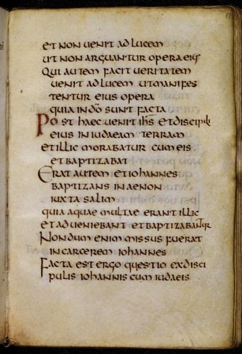 St Cuthbert Gospel ~ of St. John