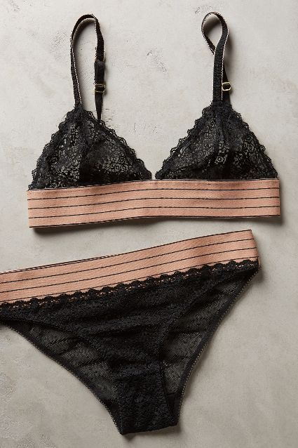 Stella McCartney Drawing Lace Bra - anthropologie.com
