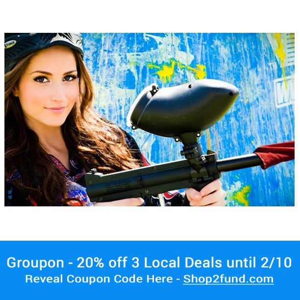 Hi everyone! #Groupon is having another 20% off 3 Local Deals that ends 2/10. We have a coupon code for you here! --> http://www.shop2fund.com/coupon/20-off-up-to-3-local-deals-2/751333/