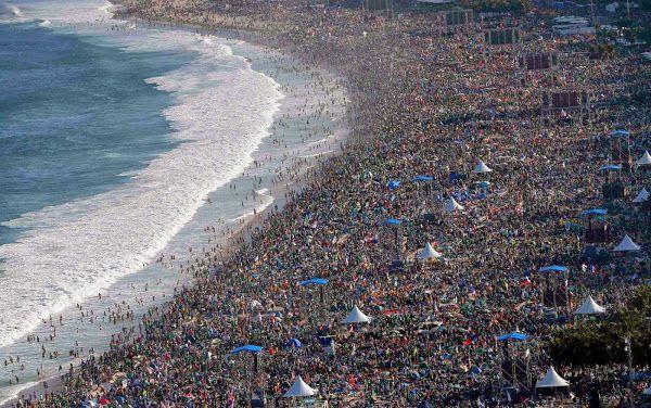 Bevolkingsdichtheid/bevolkingsspreiding - Copa Cobana (Brazilië)