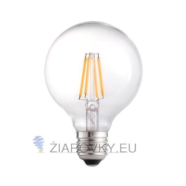 FILAMENT žiarovka – SHINES - je žiarovka z retro kolekcie FILAMENT v tvare gule z minulého storočia. Tento nový typ žiarovky spája historický vzhľad s novou formou LED technológie. Kolekcia FILAMENT obsahuje LED filament, ktorý sa používa v nových LED žiarovkách a je približne 4cm dlhý sklenený alebo zafírový pásik, na ktorom je umiestnených zhruba 25 LED diód zapojených do série. LED čipy sú vyrábané technológiou COG – Chip On Glass