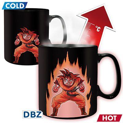 Mug Dragon Ball Z Thermo-réactif Sangoku #mug #Sangoku #geek #DBZ #DragonBall