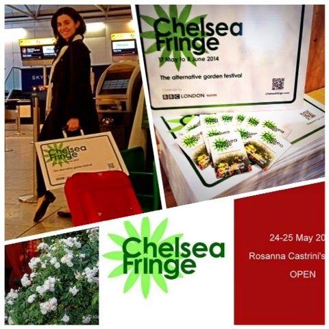 The @Chelsea Fringe  Alternative Garden Festival lands to Italy! - Il #ChelseaFringe atterra in Italia!!!